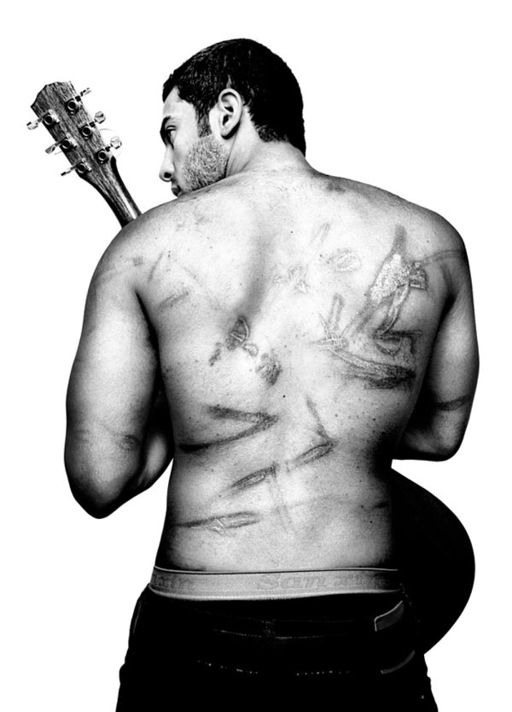 Ramy Essam, 23, singer, guitarist and songwriter