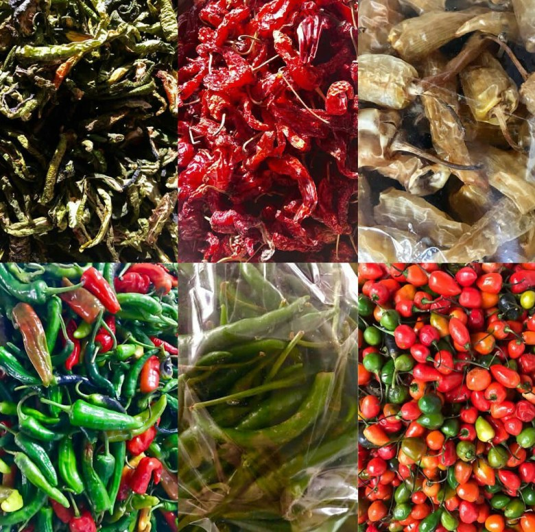 Variety of Chillies at Centenary Farmers Market, Thimphu. Image Source