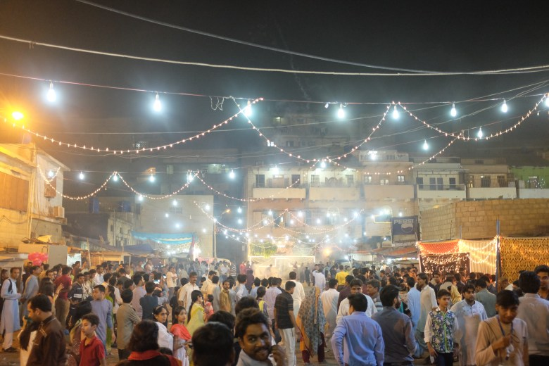 Diwali is an important festival on calendar in Karachi