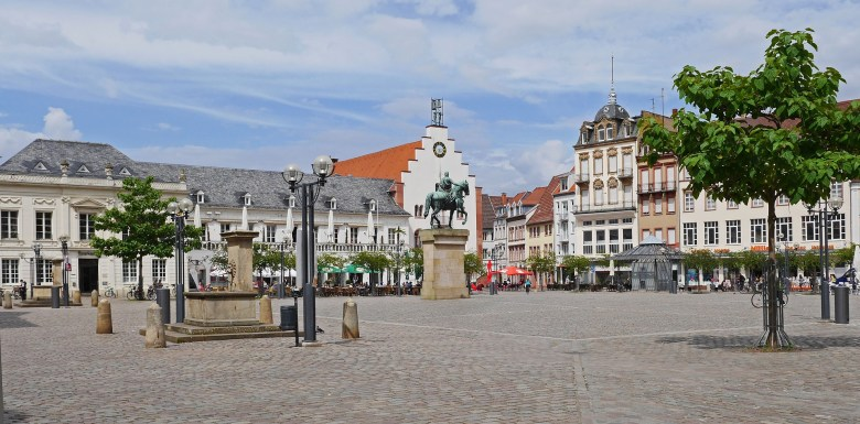 Landau city in the Palatinate Region, Germany