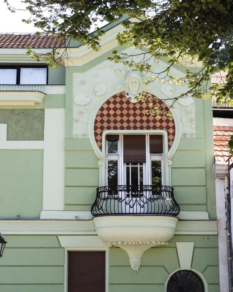 A house in Kosancicev venac, Belgrade