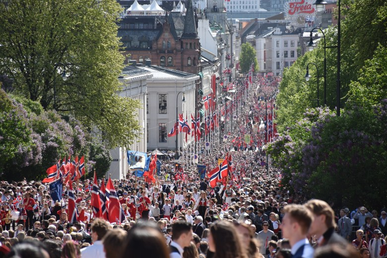 Norwegian Constitution Day, Oslo