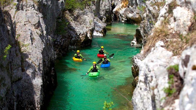 Kayaking in Soca Valley   © Nea Culpa