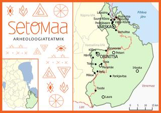 Detailed Map of Setomaa. © Mart Variik