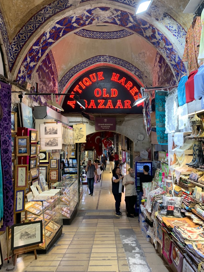 The Grand Bazaar is the oldest and largest covered bazaar in the world, with thousands of shops.