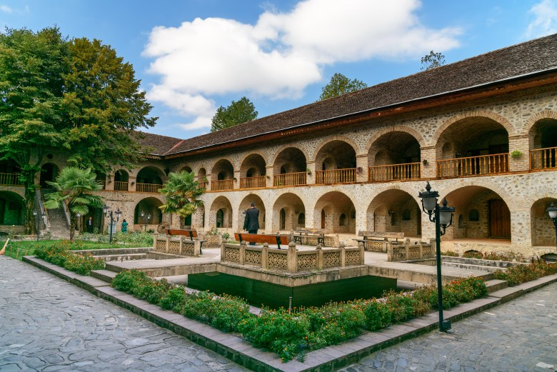 Three centuries old caravanserai turned into hotel in Sheki