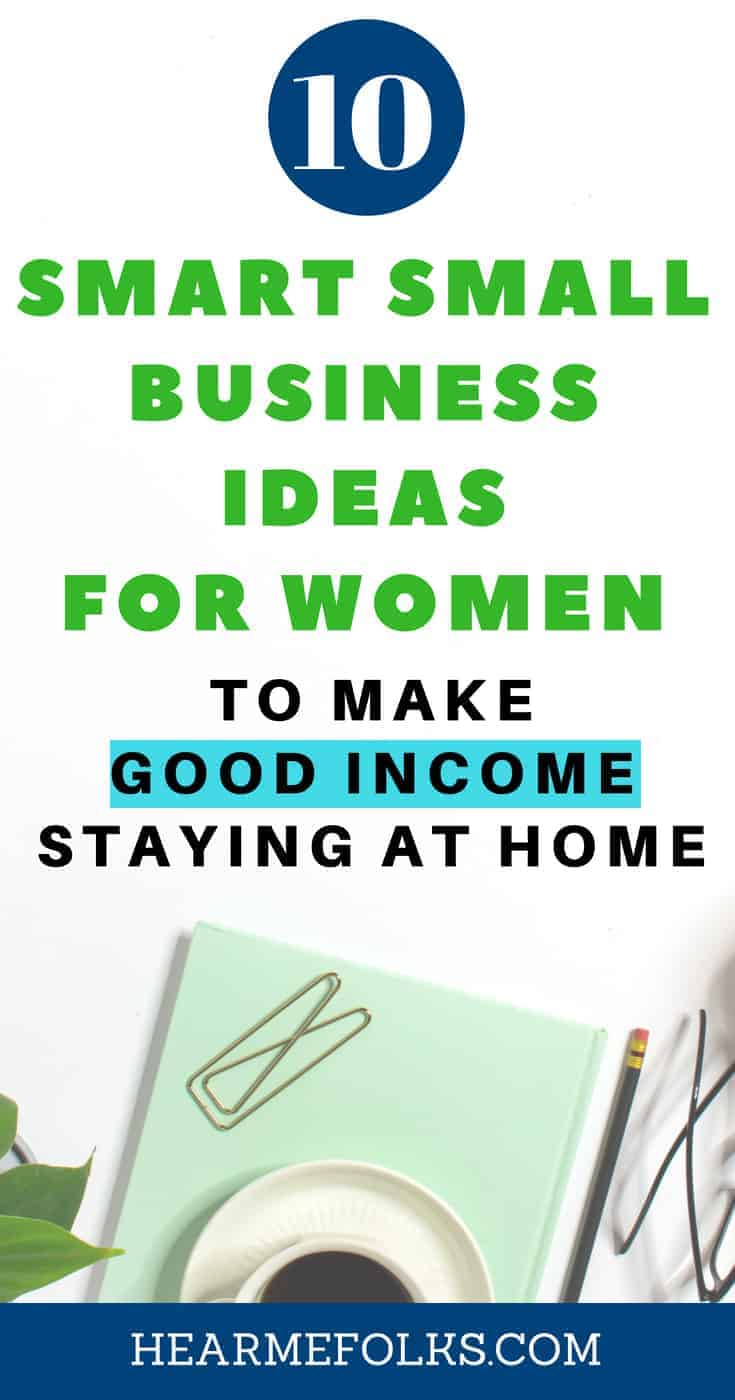 10 top class small business ideas for women to get self employed