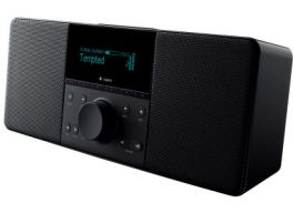Overgrown bedside radio with internet