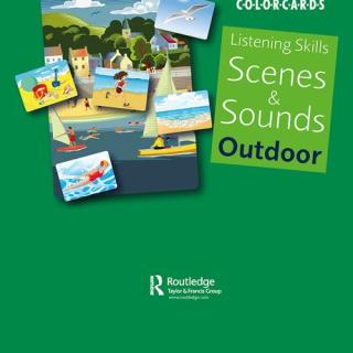Colorcards - Listening Skills: Scenes and Sounds Outdoor