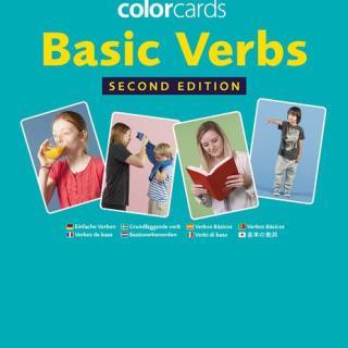 Colorcards - Basic Verbs