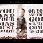 1217 Sins Separate Bobble -Spurgeon Picture Quote