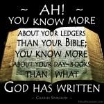 15. God has Written -Spurgeon Photo Quote