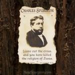 1971. Cross Religion Jesus Gospel - Charles Spurgeon Rare Photo Quote