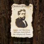 1971. Cross Religion Jesus Gospel - Charles Spurgeon Rare Photo Quote