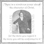 21. Conformed Character Christ - Young Charles Spurgeon Portrait Quote