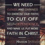 31. Clouds Darkness - Spurgeon Photo Quote IG
