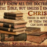 3331. Doctrine Know Christ - C.H. Spurgeon Sermon Photo Quote
