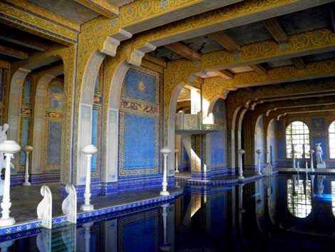 Hearst Castle Pools   Neptune Pool and Roman Pool Roman Pool