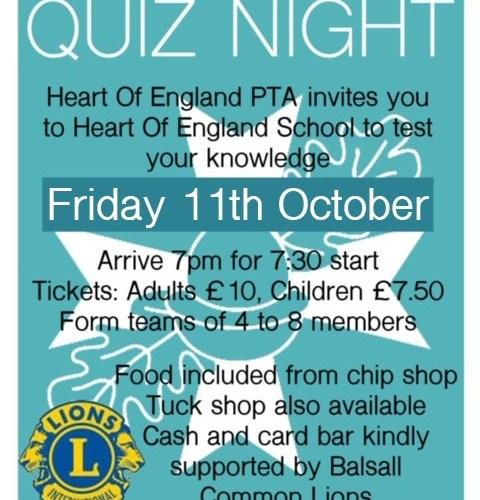 PTA Quiz Night