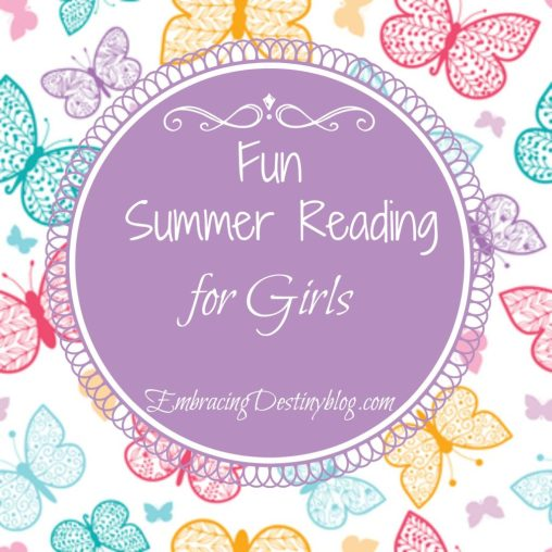 fun summer reading list for girls @destinyblogger