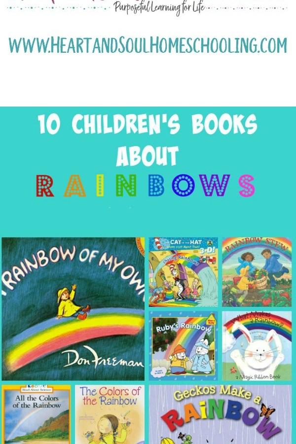10 Children's Books about Rainbows