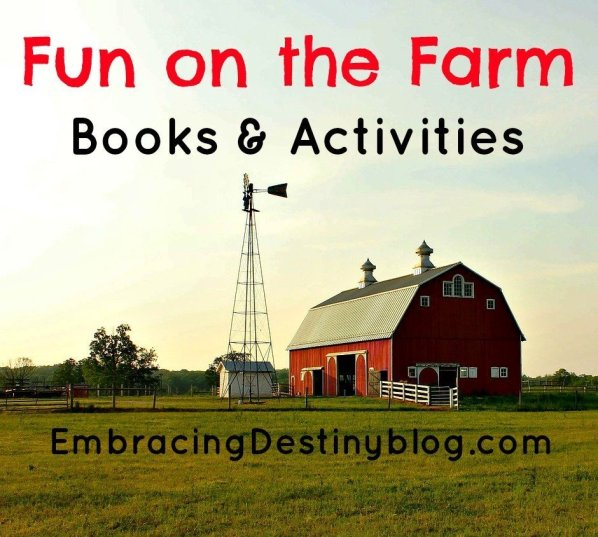 Fun on the Farm books & activities
