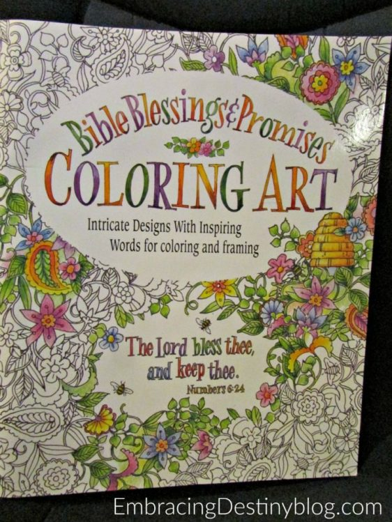This Bible Blessings Promises Coloring Book Is One Of My Favorites Heartandsoulhomeschooling
