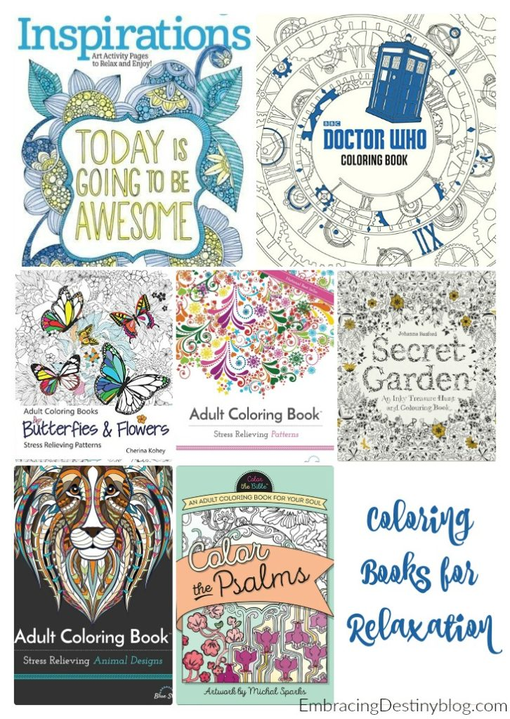Coloring books for adults. heartandsoulhomeschooling.com