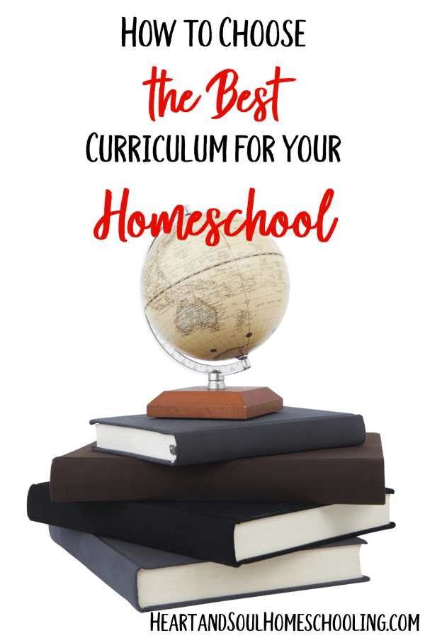 How to Choose the Best Homeschool Curriculum for your Family