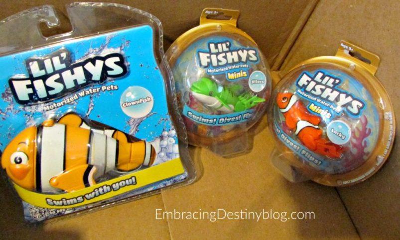 lil fishys toys for summer pool toys bath toys