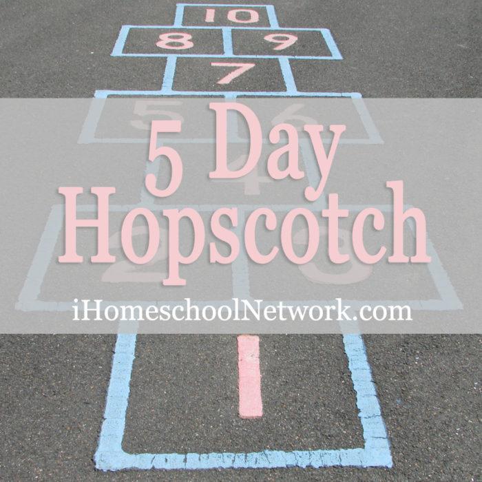 iHomeschool Network hopscotch blog hop