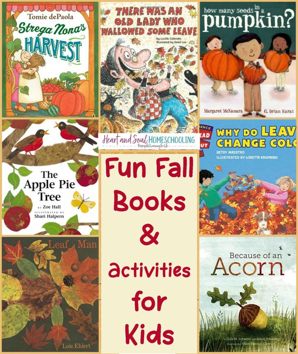 Fall Books & Activities for Homeschool Preschool