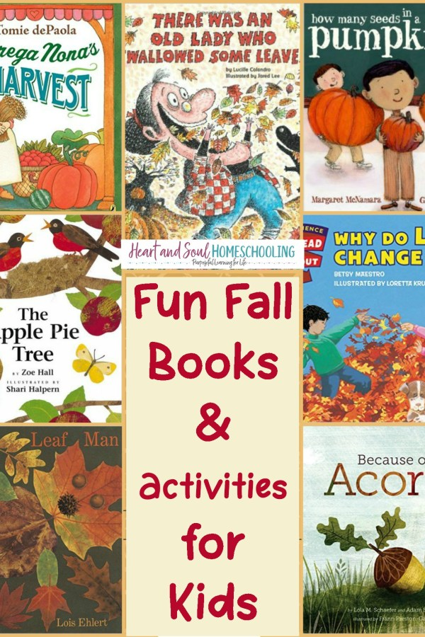 Fall Books & Activities for Homeschool Preschool