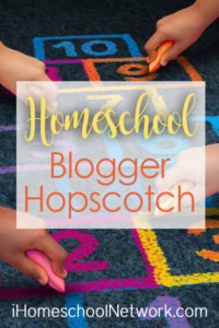 iHomeschool Network homeschool blog hopscotch