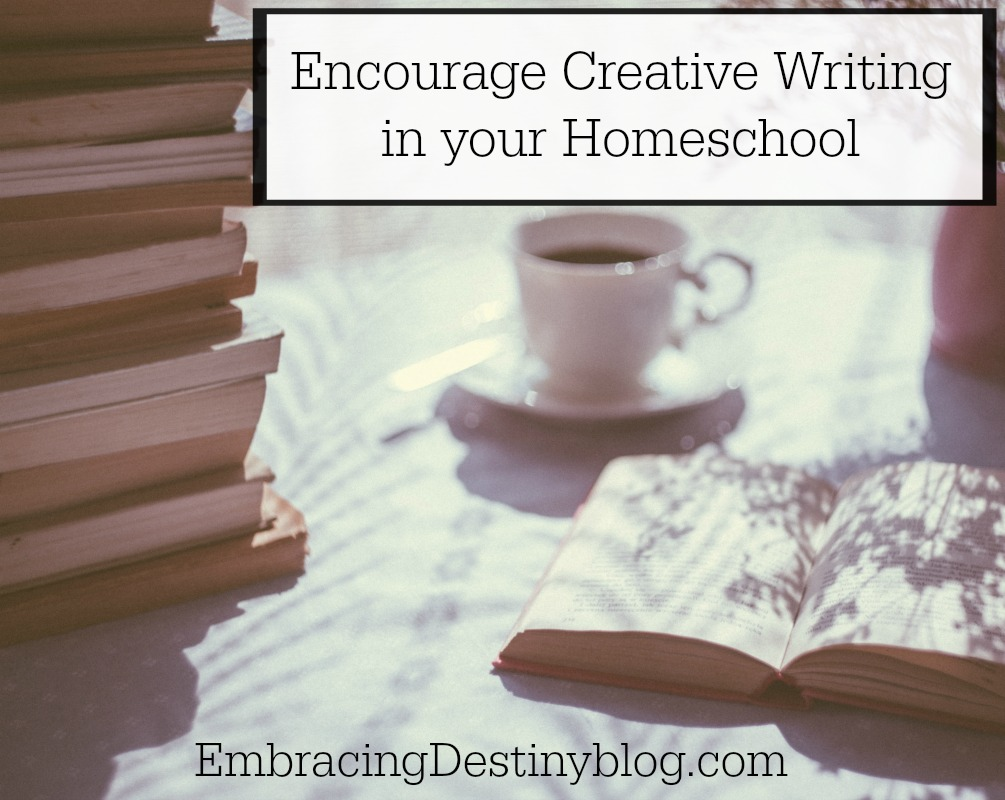 How to encourage creative writing in your homeschool