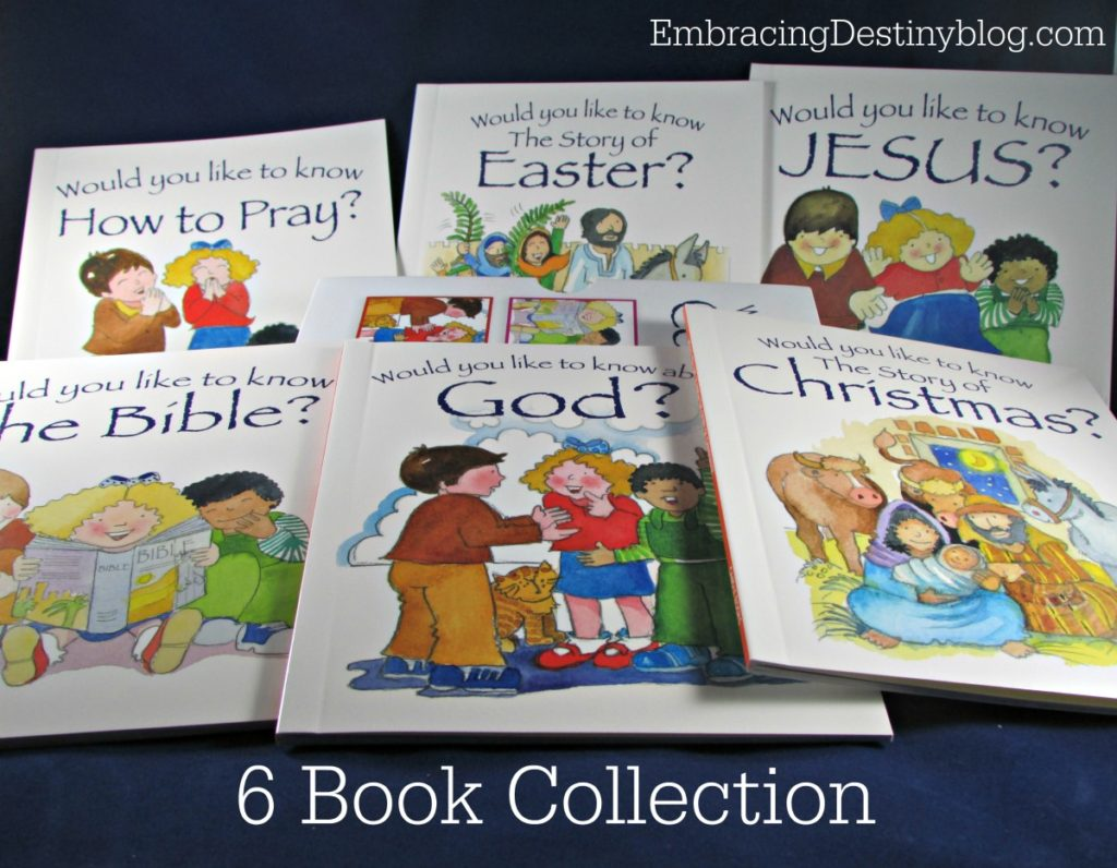 Would You Like to Know? Collection | children's books | Christian and faith answer for kids