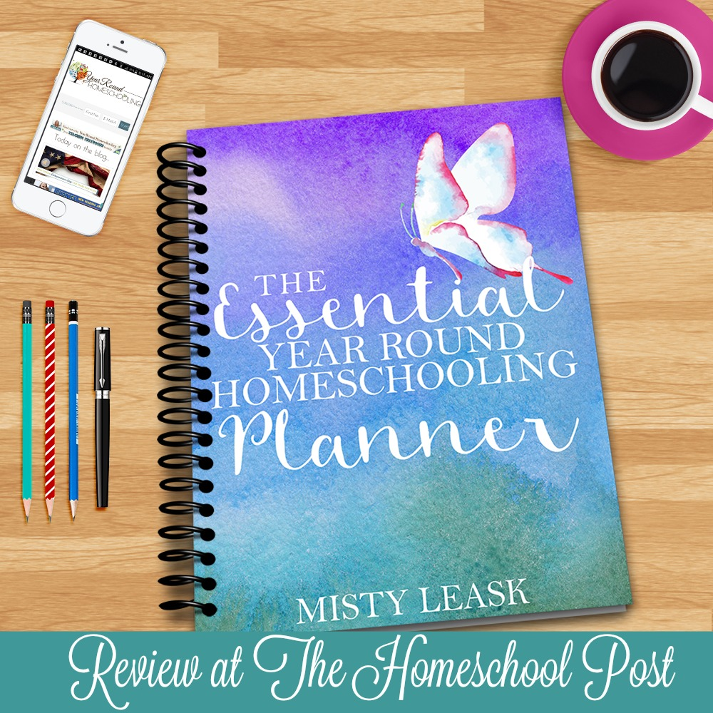 Why you need the Essential Year Round Homeschooling Planner to simplify your paperwork and keep you on track.