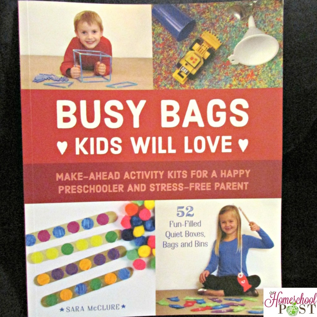 Check out these great ideas for busy bags for your toddlers and preschoolers | Homeschool preschool | Review of Busy Bags Kids Will Love book