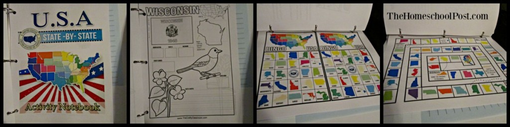Homeschool Printing Co: USA Geography