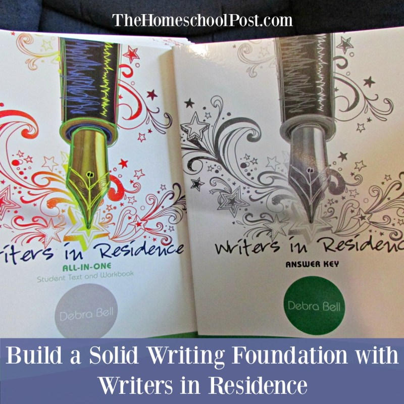 Comprehensive homeschool writing curriculum from Apologia: Writers in Residence   homeschool language arts