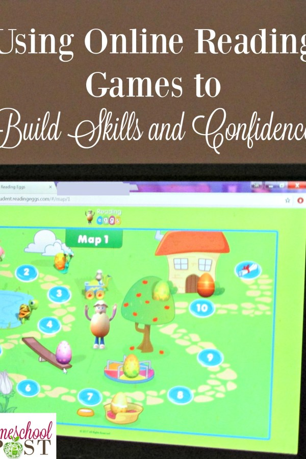 Using Online Reading Games to Build Skills and Confidence