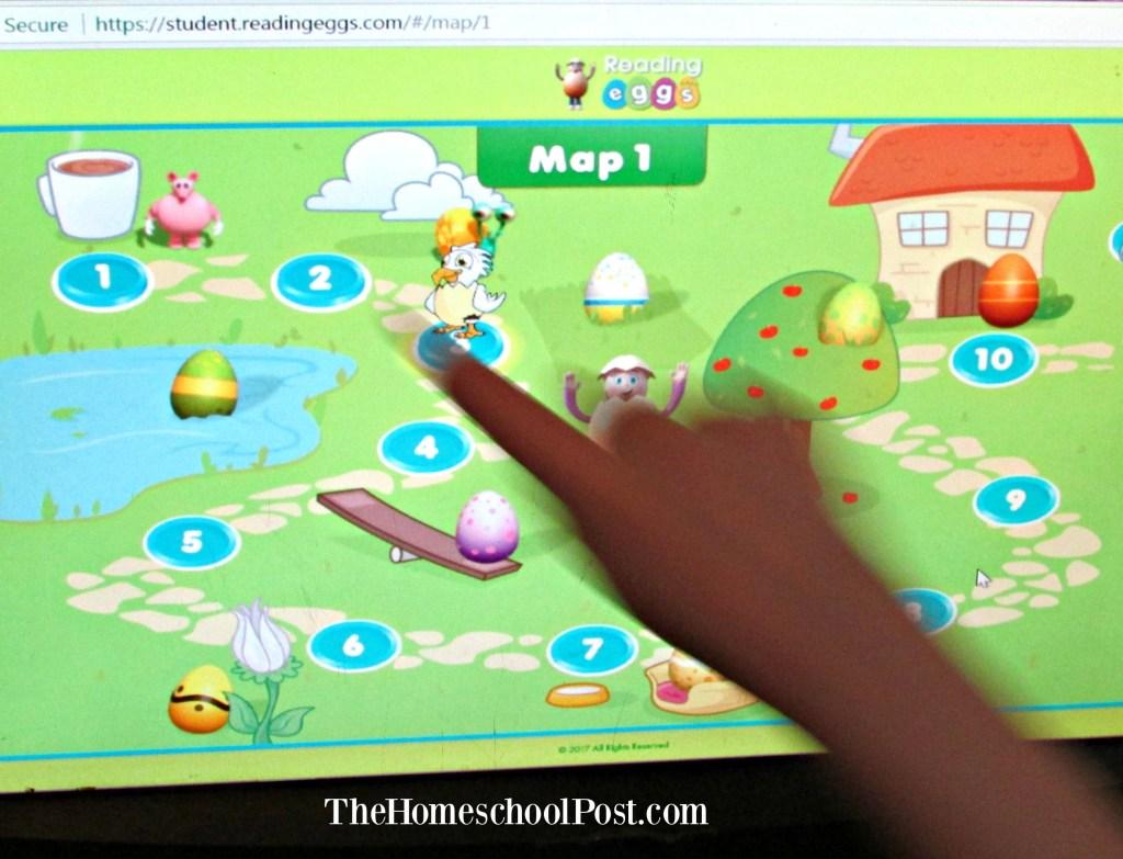 Reading Eggs online learning