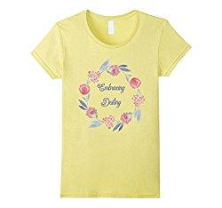 Embracing Destiny floral tshirt | 5 colors