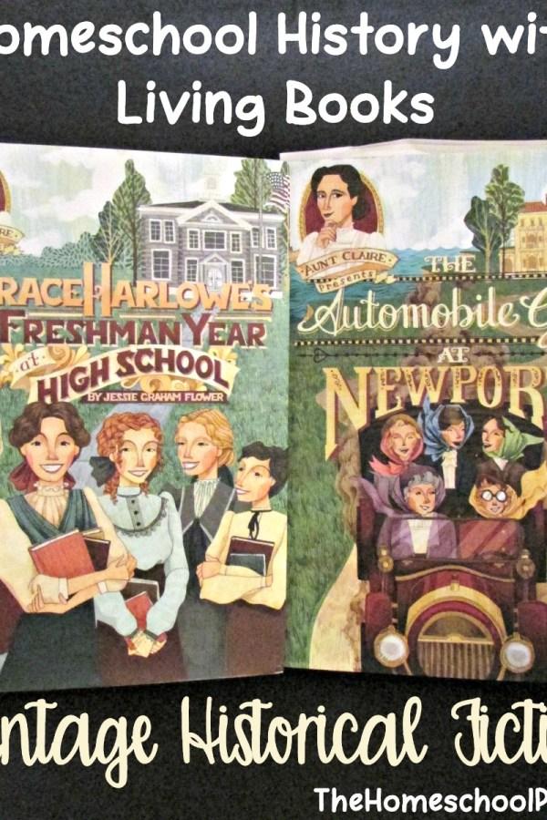 Aunt Claire Presents Vintage Historical Fiction for Girls