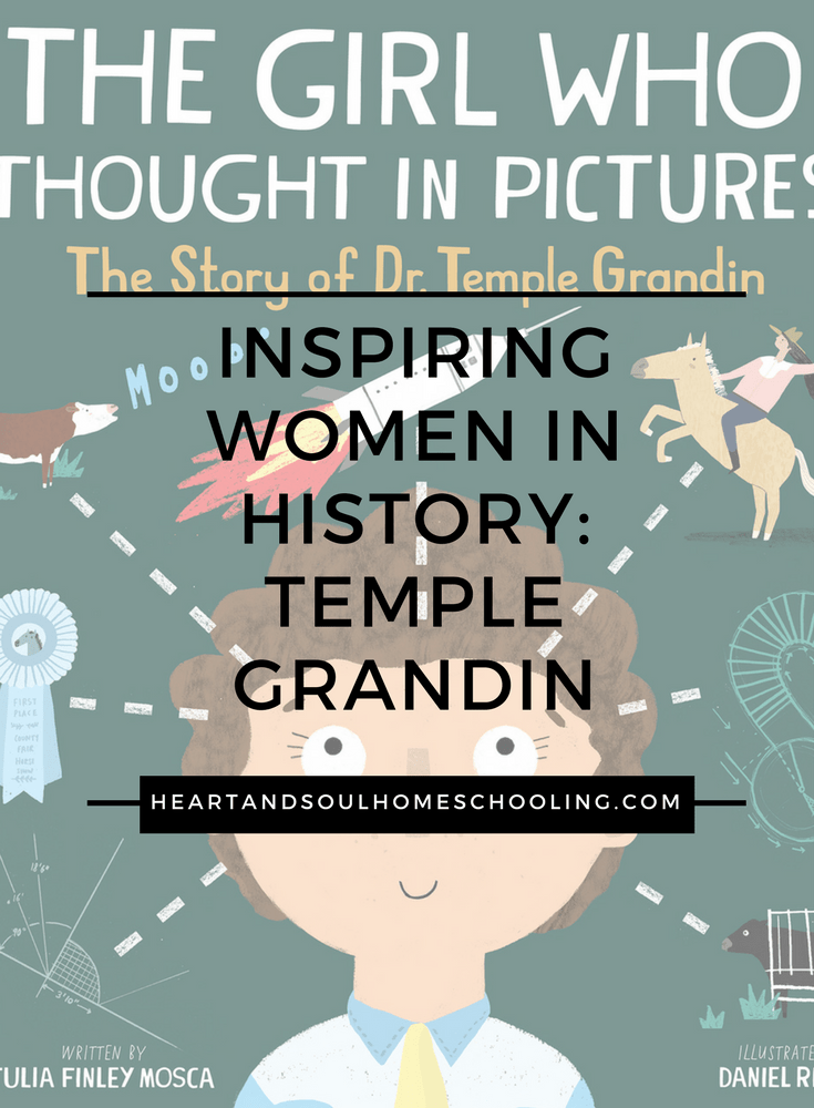 The Girl Who Thought in Pictures: The Story of Dr. Temple Grandin   inspiring women in history   special needs autism   children's books