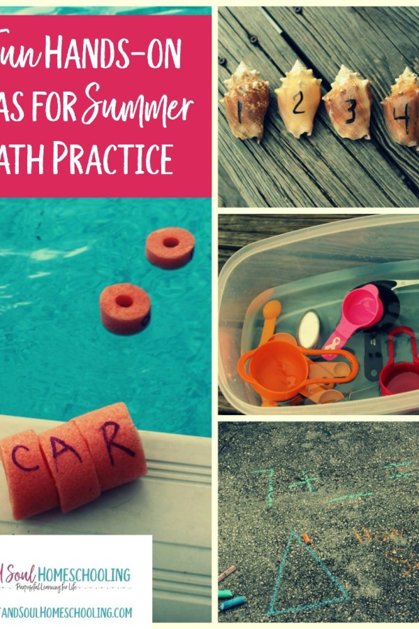 7 Ideas for Summer Math Practice