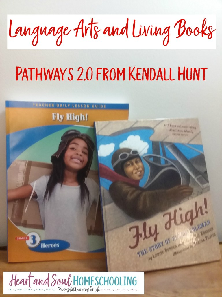 Language arts and living books with Kendall Hunt Pathways 2.0 | literature unit study