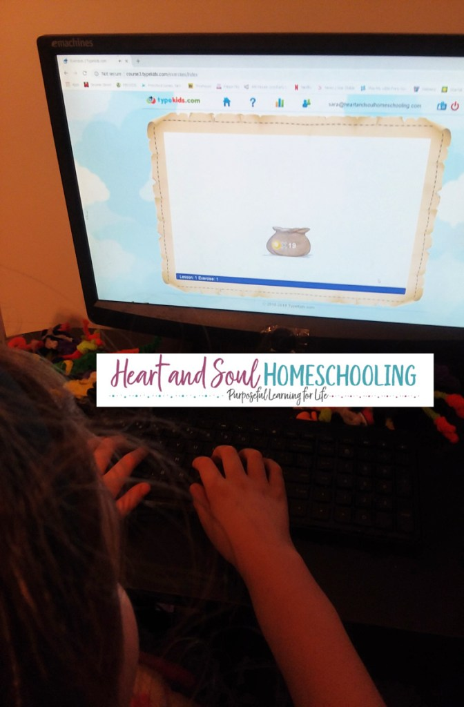 How to teach touch typing skills in your homeschool | why typing skills are important | how to teach kids typing