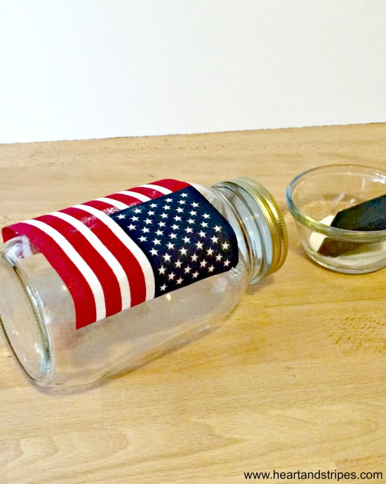 Simple DIY July 4th Decoration 2