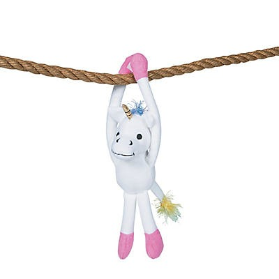 Long Arm Stuffed Unicorn - Oriental Trading